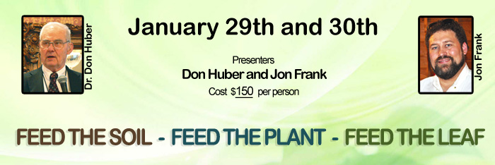 Feed the Soil - Feed the Plant - Feed the Leaf Class