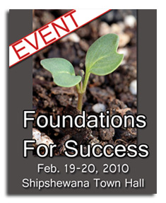 Foundations For Success Event - Shipshewana, Indiana