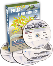 Foliar Plant Nutrition DVD Set