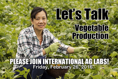 Let's Talk - Vegetable Production