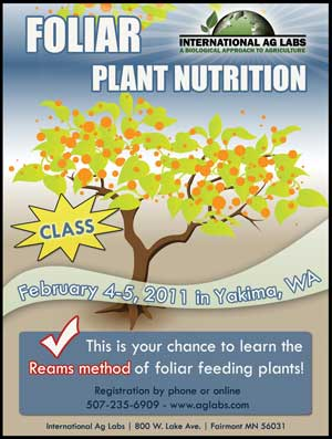 foliar plant nutrition